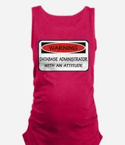 Database Administrator Maternity Tank Top