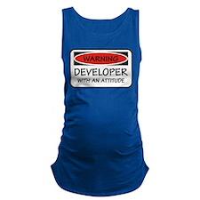 Attitude Developer Maternity Tank Top