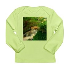 Stream in the forest Long Sleeve T-Shirt