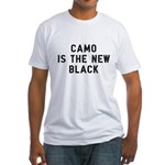 Camo Is The New Black Fitted T-Shirt