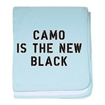 Camo Is The New Black baby blanket