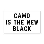 Camo Is The New Black Rectangle Car Magnet
