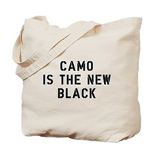 Camo Is The New Black Tote Bag