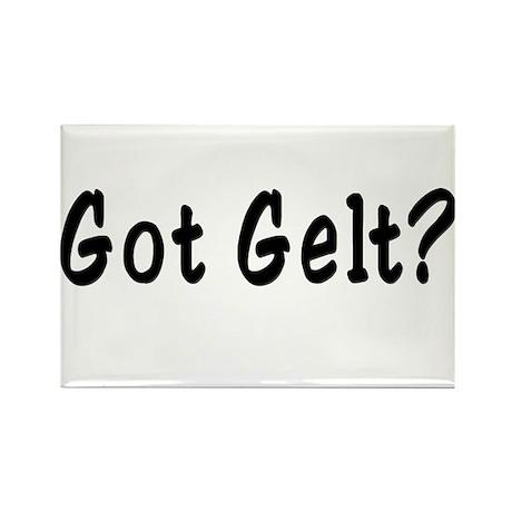 Got Gelt? Rectangle Magnet
