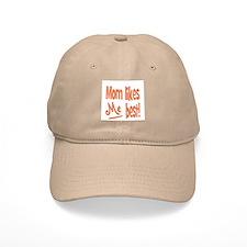 Mom Best Baseball Cap
