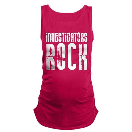 Investigators Rock Maternity Tank Top