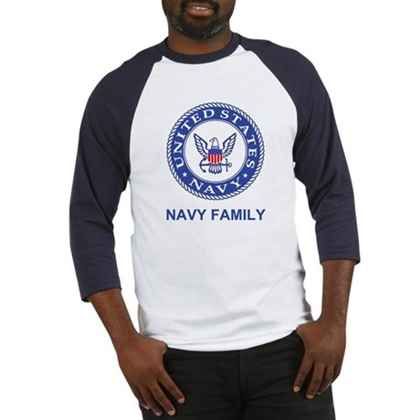 Navy Family Baseball Jersey