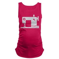 Sewing Machine Maternity Tank Top
