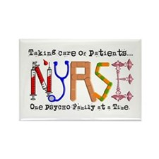 Nurse Rectangle Magnet