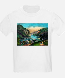 View of Harpers Ferry, Va. - 1907 T-Shirt