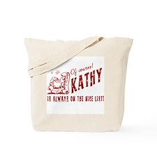Nice List Kathy Christmas Tote Bag