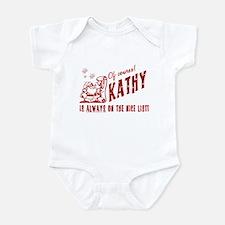 Nice List Kathy Christmas Infant Bodysuit