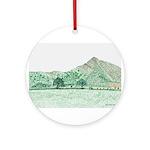 The Lawley, Shropshire Ornament (Round)