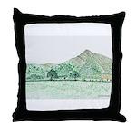 The Lawley, Shropshire Throw Pillow