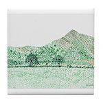 The Lawley, Shropshire Tile Coaster