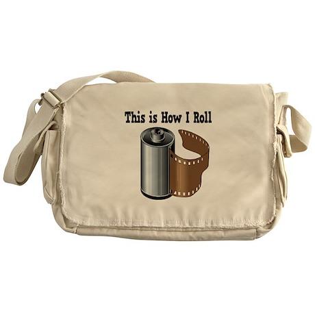 How I Roll (Camera Film) Messenger Bag
