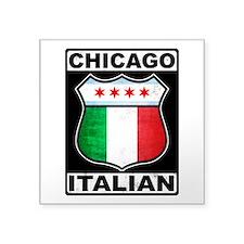 Chicago Italian American Sticker