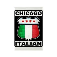 Chicago Italian American Rectangle Magnet