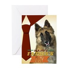 Belgian Tervuren Fathers Day Card