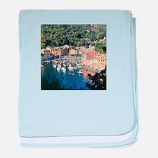 Portofino baby blanket