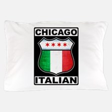 Chicago Italian American Pillow Case