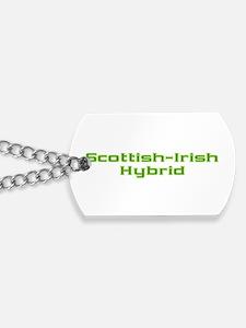 Scottish Irish Hybrid Dog Tags