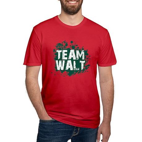 Team Walt Men's Fitted T-Shirt (dark)