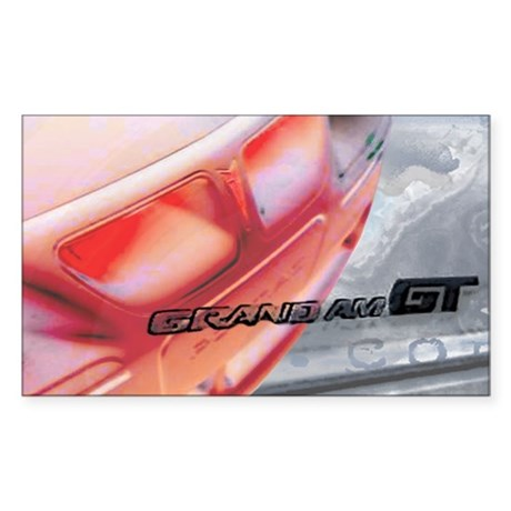 Pontiac Grand Am Rectangle Sticker