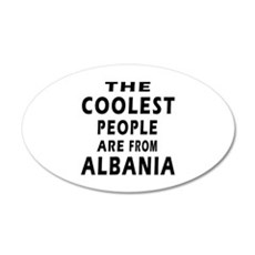The Coolest Albania Designs Wall Decal