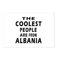 The Coolest Albania Designs Postcards (Package of