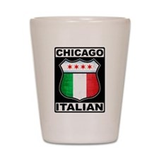 Chicago Italian American Shot Glass