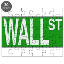 Wall Street Sign Puzzle