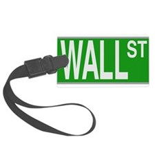 Wall Street Sign Luggage Tag