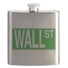 Wall Street Sign Flask