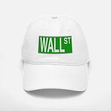 Wall Street Sign Baseball Baseball Baseball Cap