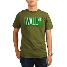 Wall Street Sign T-Shirt