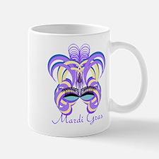 Mardi Gras Purple Feather Mask Mug