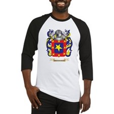 De Hass Coat of Arms Baseball Jersey