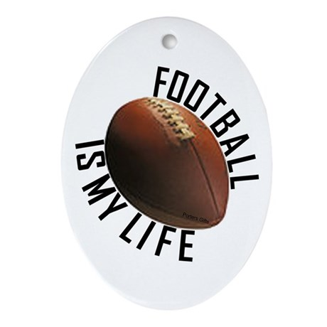 Football Ornament - Life