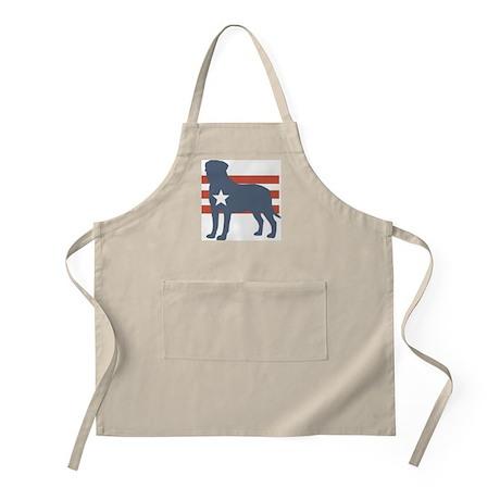 Patriotic Bullmastiff BBQ Apron