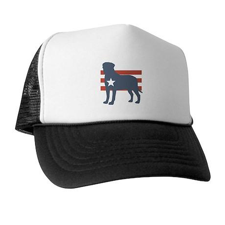 Patriotic Bullmastiff Trucker Hat