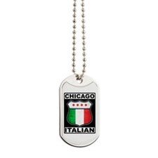 Chicago Italian American Dog Tags