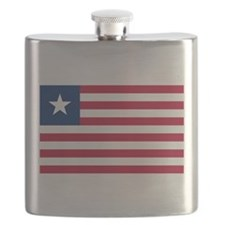 Flag of Liberia Flask