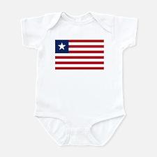 Flag of Liberia Infant Bodysuit
