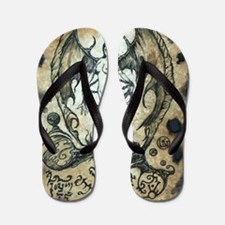 Succubus Flip Flops