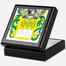 de la Rosa Coat of Arms Keepsake Box
