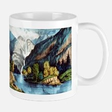 Yo-semite Falls California - 1856 Mug
