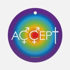 Equal Rights for all Ornament (Round)