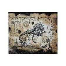 Spawn of Dagon Throw Blanket