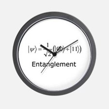 Entanglement Wall Clock